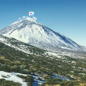 Manzaneda alza a bandeira donacionalismo