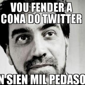 Filipe Díez trolléase a si mesmo e provoca a implosión dun servidor deTwitter