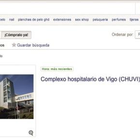 A Xunta venderá en eBay parte doCHUVI