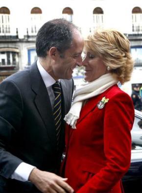 [Exclusiva] O romance entre Francisco Camps e EsperanzaAguirre