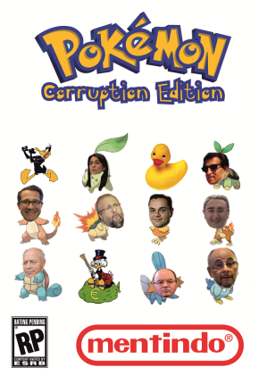 Nintendo lanza Pokemon, CorruptionEdition