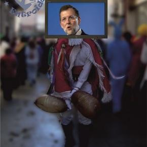 [Especial Entroido] Rajoy irá disfrazado de pantalla a Xinzo deLimia