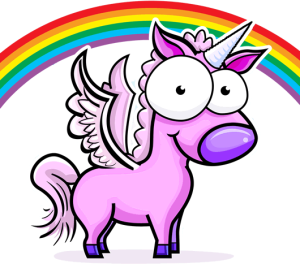unicornio rosa