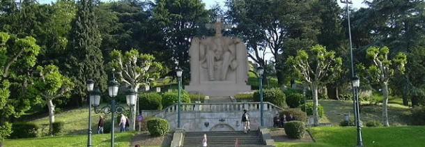 Deseño da futura estatua de Abel Caballero no Castro de Vigo.