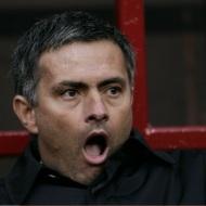 Mourinho no momento de coñecer a denuncia