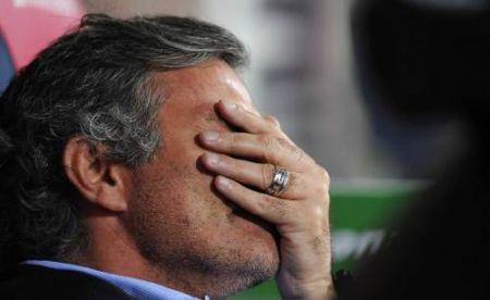 Mourinho despois de coñecer os motivos da denuncia