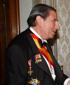 Paco Vázquez, co seu pixama, no momento de chegar a urxencias
