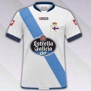 A nova equipación do Deportivo, bandeira galega eestrela