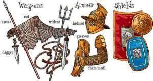 Armas gladiadores