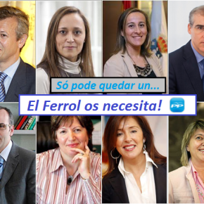 Feijoo fará un casting para elixir de entre os seus Conselleiros ao novo alcalde doFerrol