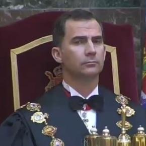 "Felipe VI achaca o republicanismo á ""herenciarecibida"""