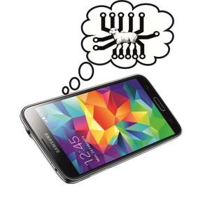 Descobren un Samsung Galaxy S5 que soña con ovellaseléctricas