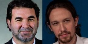 Sospéitase que Anxo Quintana e Pablo Iglesias poden ser a mesmapersoa