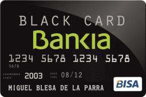Bankia lanza a súa nova tarxeta 'Bisa' Black Card para pagos enB
