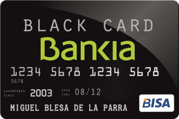 bisa visa black card