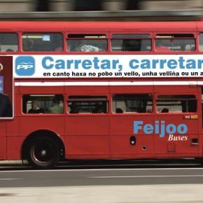 O PP plantéxase contratar buses londinenses para profesionalizar acarretaxe