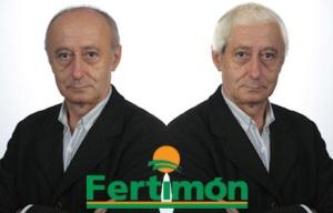Imaxe da nova campaña de Fertimón, co antes e despois de Paco Rodríguez