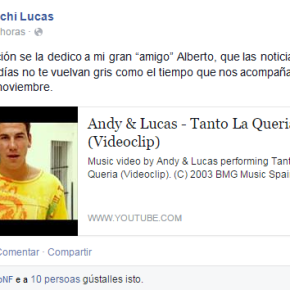 """Pachi Lucas: """"Tanto laquería"""""""