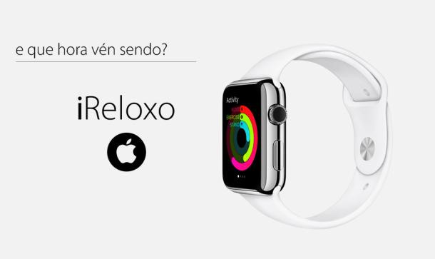 Apple presentou o seu novo reloxo, o iReloxo, con campaña propia para Galiza.