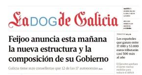 La Voz de Galicia fusionarase coDOG