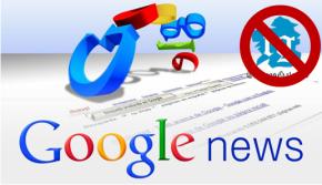 Google News deixará de indexar a TemposGalegos