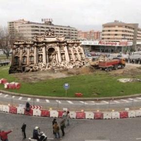 Italia intercambiará a Fontana di Trevi polo barco deAlfageme