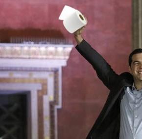 O PP enviará papel hixiénico e cueiros a Grecia ante a victoria deSyriza