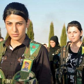 Machos Alfa deISIS denuncian ás Unidades de Autodefensa Femininas Kurdas por danosmorais