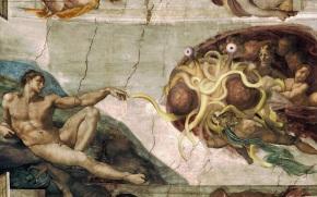 O DOG aprobará por decreto a existencia do Flying SpaghettiMonster