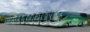 Algúns dos buses que CxG porá a disposición do seu #PrimariasOnTOUR