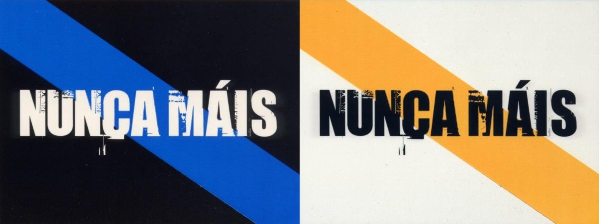 Trifulca no Parlamento Galego pola cor da bandeira de Nunca Máis