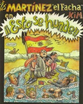 """Martínez """"el Facha"""" na portada dun dos seus libros."""