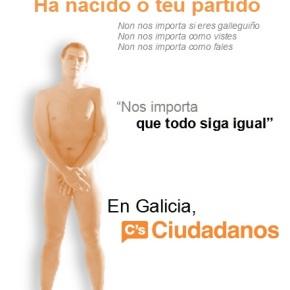 Ciudadanos proporá en Galiza que todo siga comoestá