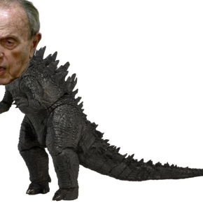 Abel Caballero coloca outro dinosaurio enVigo