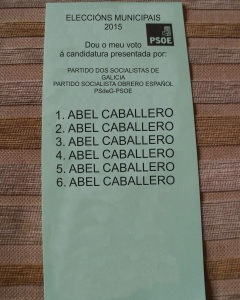 papeleta ABEL CABALLERO