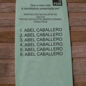 O PSOE de Vigo presenta unha lista plural que acolle a todas assensibilidades