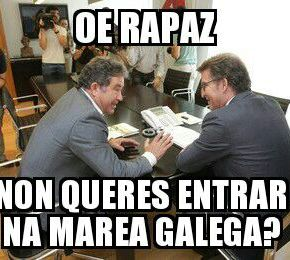 Lores ofrece a Feijóo a entrada do PP na 'MareaGalega'