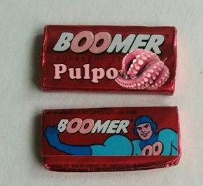 Boomer volve ao mercado co chicle de 'Polbo poucococido'