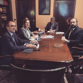 Rafa Cuíña pide á ministra de Fomento unha nova saída na autopista paraLalín