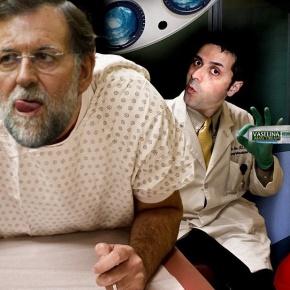 Proctólogo atopa un argumento de Rajoy no seucú