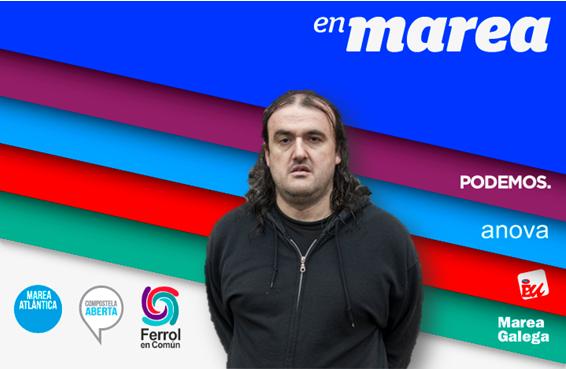 Antón Sánchez do futuro diante do Photocall de EnMarea.