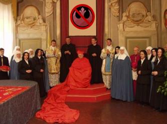 Arcebispo, Antonio Cañizares, coas virxes.