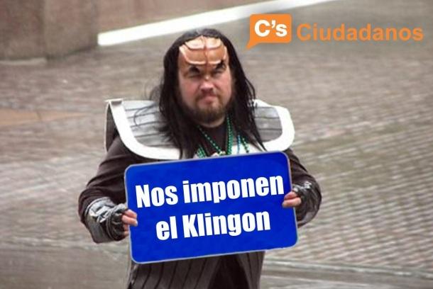 Klingon bilingüe
