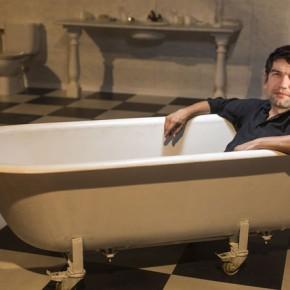 O alcalde de Ferrol levará a bañeira aosmitins