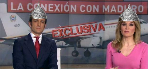 antena 3 noticias conspiranoia gorros aluminio