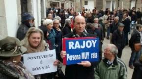 """Declaran a Rajoy """"Persona muy rata"""" enPontevedra"""