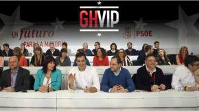 A executiva do PSOE entrará en grupo en 'Gran HermanoVIP'