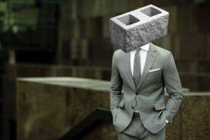 cara de cemento dura