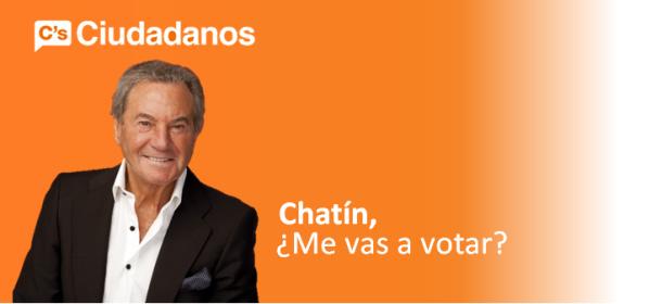 Imaxe de campaña de Arturo Fernández e Ciudadanos.
