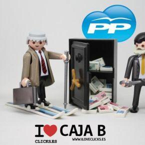 O PP podería pagar a fianza da súa Caixa B con cartos da CaixaC